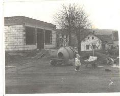 stavba prodejny nanávsi - 1971