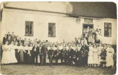Hostinec uČivišů zpočátku 20.stol.