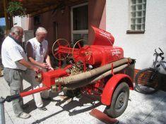 stará stříkačka Předenických hasičů