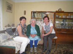 Nejstarší občanka obce slavila 90