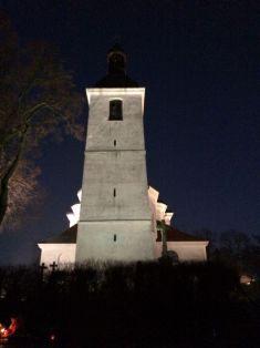 Prusinský kostel vnoci - 24.12.2016